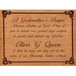 Godparent's Prayer Plaque