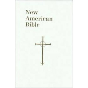 Saint Joseph Gift Bible, Personal Size Edition: New American Bible (NAB), white imitation leather
