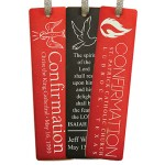 Confirmation Aluminum Bookmark