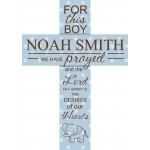 Cross - Baptism/Baby Polka Dot Cross