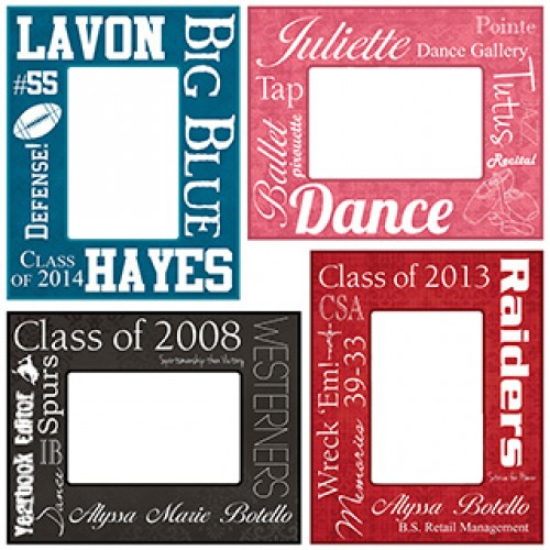Fantastic Custom Word Frames Image - Custom Picture Frame Ideas ...