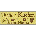 Custom Kitchen Plaque