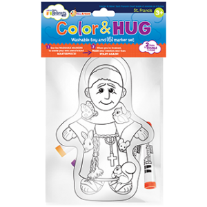 Color and Hug St. Francis of Assisi
