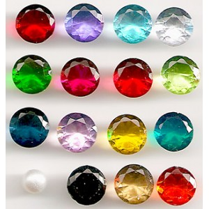 Birthstones/Crystal Accent Stones for Floating Charm Lockets