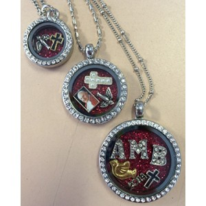 Confirmation Floating Charms Locket