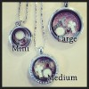Dancer Floating Charms Locket
