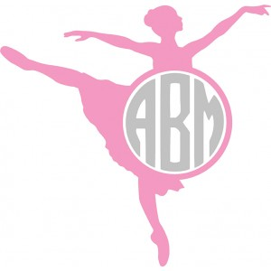 Custom Vinyl Decal - Ballet
