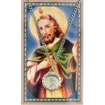 St. Jude Prayer Card and Medal Set