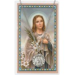 St. Maria Goretti Prayer Card and Medal Set
