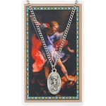 St. Michael Prayer Card and Medal Set